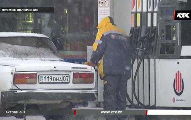 """Qazaxıstanda """"Aİ-92"""" markalı benzin ucuzlaşıb"""