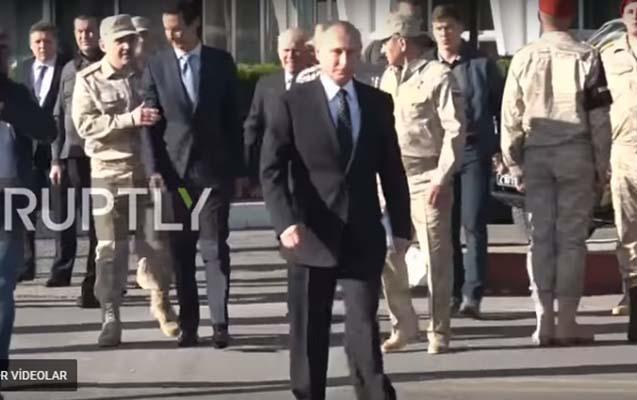 Rus general Əsədi Putinlə addımlamağa qoymadı