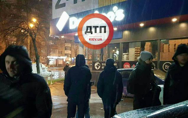 Kiyevdə silahlı atışma