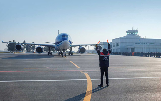 Daha bir aeroport təmirdən sonra istifadəyə verildi