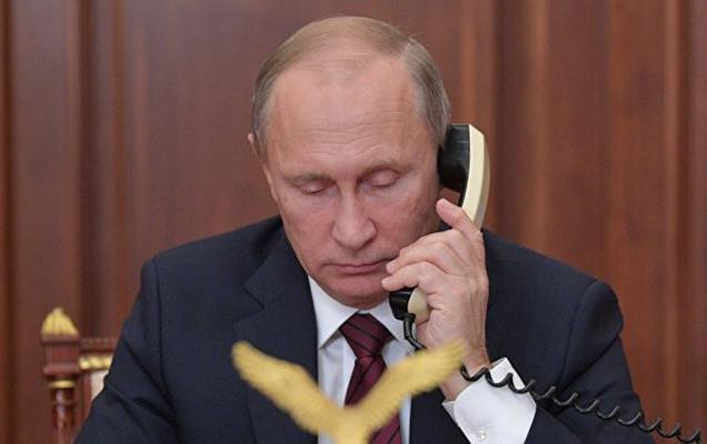 Putin və Tramp arasında telefon danışığı olub