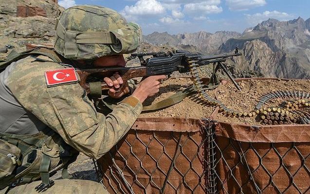 Türkyə ordusundan PKK-ya növbəti zərbə