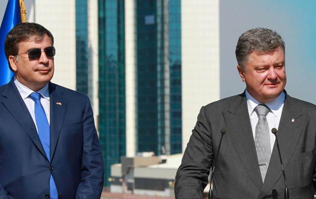 Saakaşvili Poroşenkoya barışıq məktubu göndərib