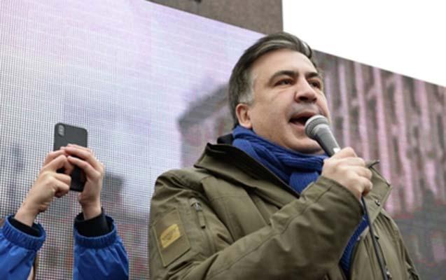 Saakaşvilinin tərəfdarları Oktyabr sarayını tərk etdilər