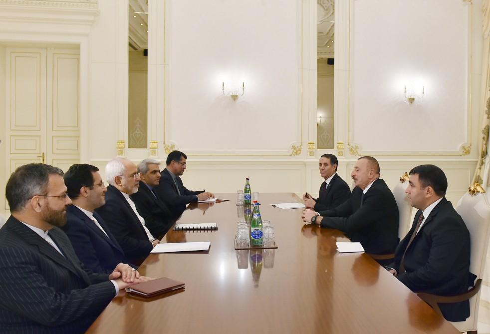 Prezident İran XİN rəhbərini qəbul edib - Yenilənib