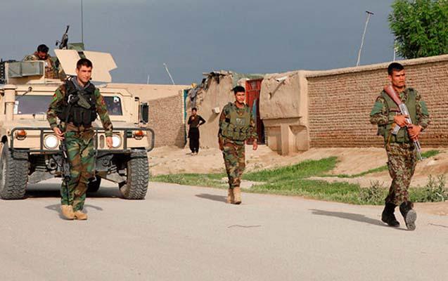 Əfqanıstanda 15 terrorçu öldürüldü