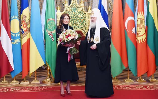 Mehriban Əliyevaya Moskvada yüksək orden təqdim edildi