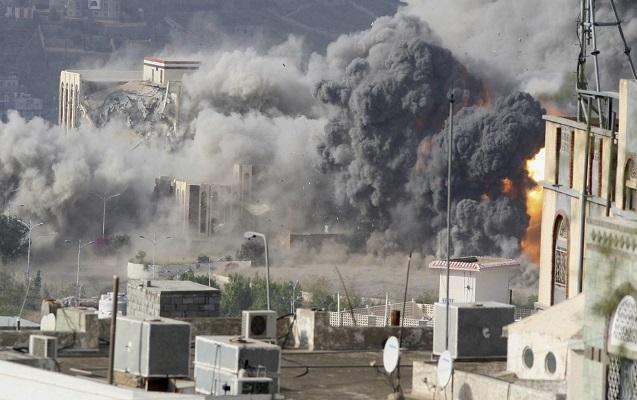 Koalisiya Suriyanı bombaladı