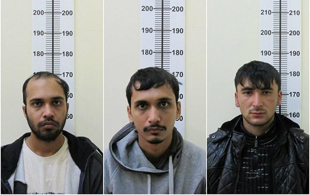 Azərbaycan sərhədçiləri 3 hindistanlını saxlayıb