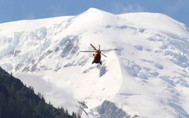 Alpinistlər helikopterlə axtarılır