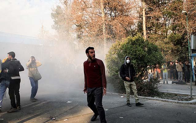 İranda 450 nəfər saxlanıldı