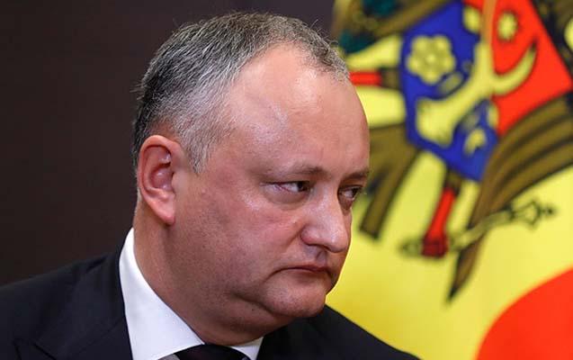 Moldova prezidentinin səlahiyyətləri müvəqqəti dayandırıldı