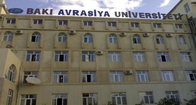 Bakı Avrasiya Universitetində doktoranturaya qəbul başlanıb