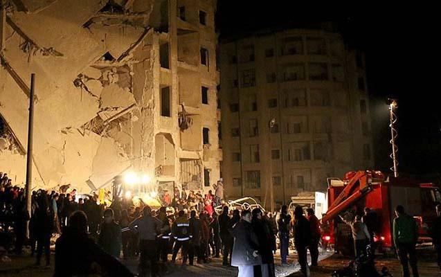 Suriyada ardıcıl 4 partlayış olub - 30 ölü, 70-dən çox yaralı var