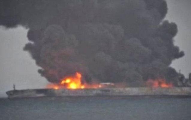 Neft tankeri partlayıb - 31 nəfərdən xəbər yoxdu