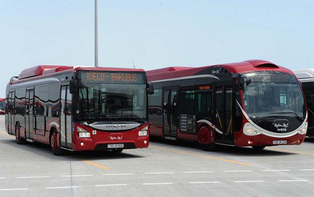 Üç avtobusun yolu dəyişdi