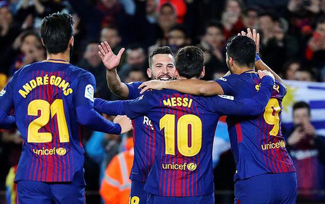 Barselona  ilk 1 8 finalçıdır