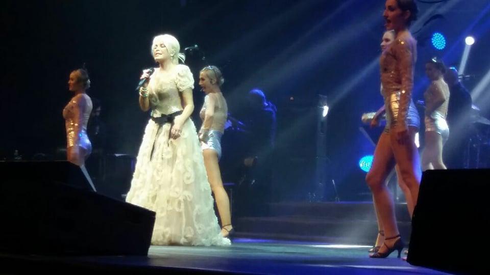Ajda Pekkanın Bakı konsertindən