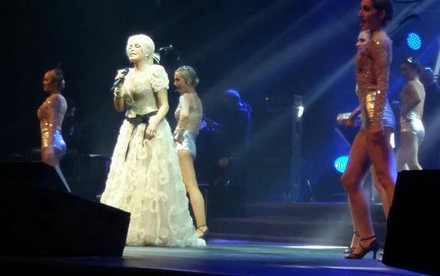 Ajdanın Bakıdakı əjdaha konsertindən özəl görüntülər - Fotolar