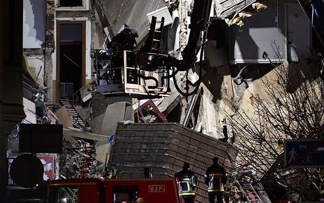 Belçikada binada partlayış
