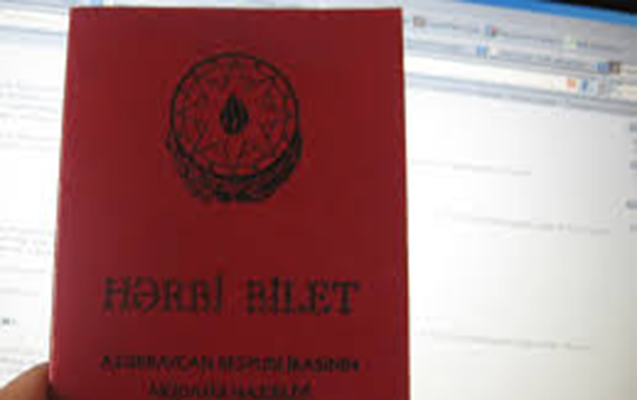 Ehtiyatda olan zabitlərin hərbi biletlərinin formasında dəyişiklik