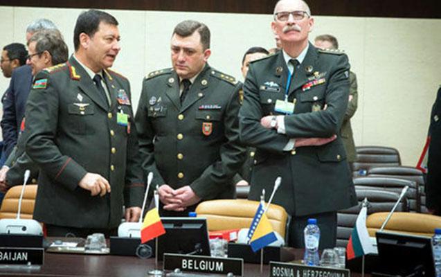 Nəcməddin Sadıkov NATO-nun iclasında