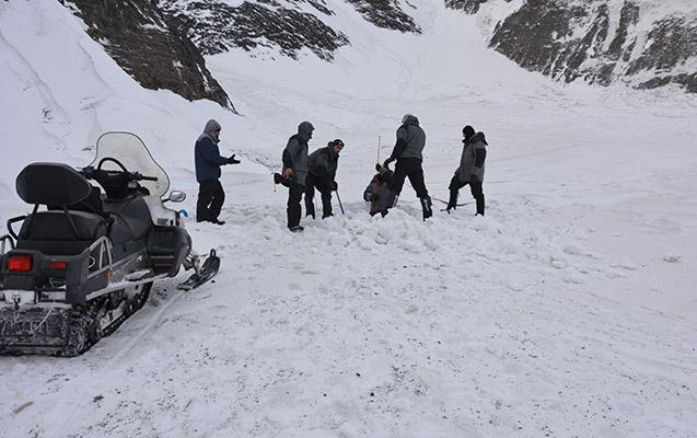 Alpinistlərin axtarışında nəticə yoxdur