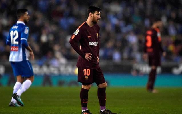 """""""Barselona""""nın məğlubiyyətsizlik seriyası bitdi"""