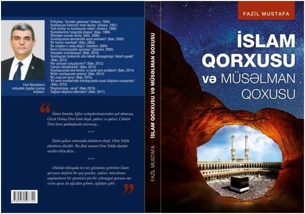 """Deputatın """"İslam qorxusu və müsəlman qoxusu"""" kitabı çap olundu"""