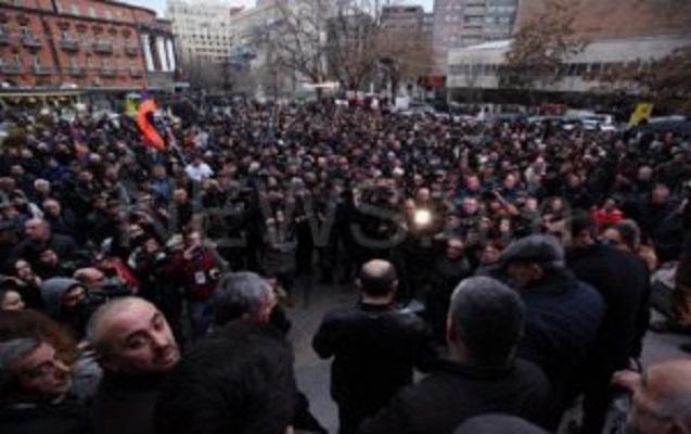 Yerevanda yeni kütləvi aksiya keçiriləcək