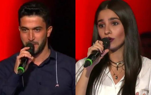 """Ayla və Pərvin """"O səs""""də yarımfinala çıxdı"""