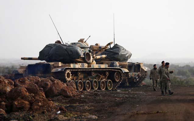 Afrin əməliyyatında 7 türk əsgəri yaralandı