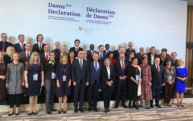 Nazir Davosda keçirilən konfransda