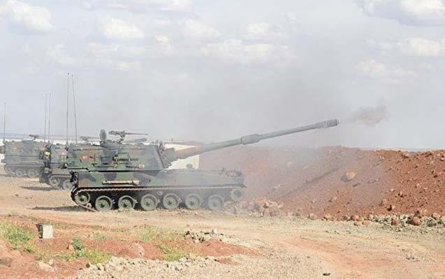 Suriyadan Türkiyənin elektrik stansiyasına hava zərbəsi endirilib