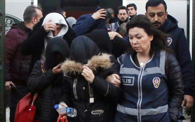Antalyada azərbaycanlı fahişələr saxlanılıb