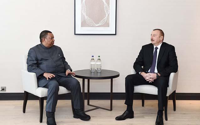 İlham Əliyev OPEC-in baş katibi ilə görüşüb