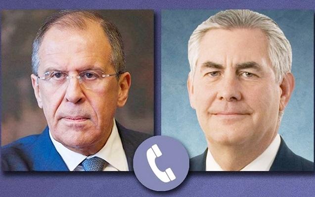 Lavrov və Tillerson Afrin əməliyyatından danışdı