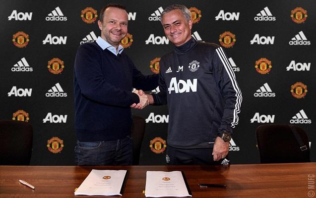 Mourinyo yeni müqavilə imzaladı