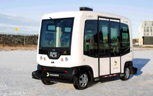 İsveçdə ilk sürücüsüz sərnişin avtobusunun sınaqları keçirilir