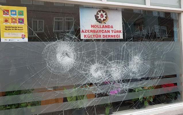 Azərbaycan diaspor təşkilatının ofisinə basqın
