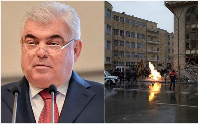 Bakıda partlayış baş verən binanı Ziya Məmmədov tikib