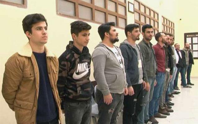 Azərbaycanda 22 əcnəbi saxlanıldı