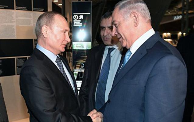 Putinlə Netanyahu Moskvada görüşdülər