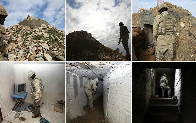 Afrində terrorçuların istifadə etdiyi tunel