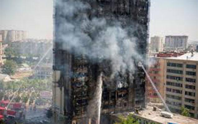 Yanan bina ilə bağlı kasassiya şikayəti verildi