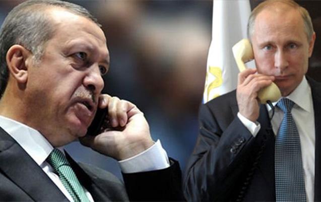 Ərdoğanla Putin telefon əlaqəsi saxladılar