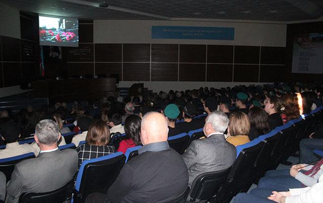 """""""Göylərdə döyüş"""" filmi təqdim edildi"""