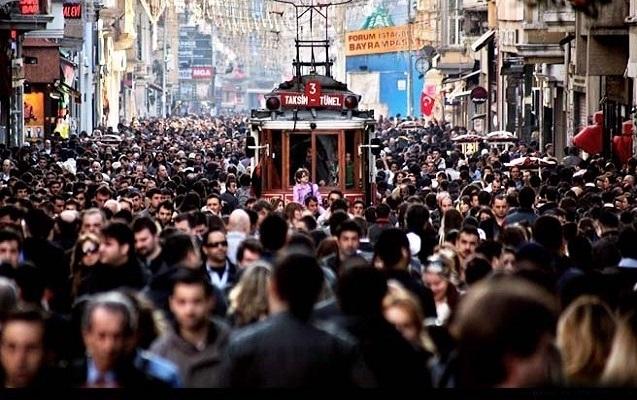 İstanbul əhalisinin sayına görə 129 ölkəni geridə qoydu