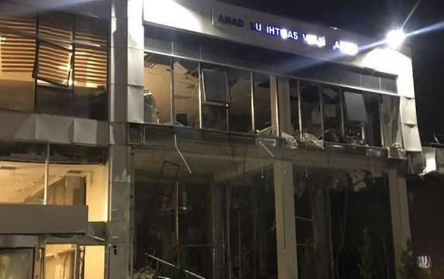 Ankarada dövlət binasında partlayış