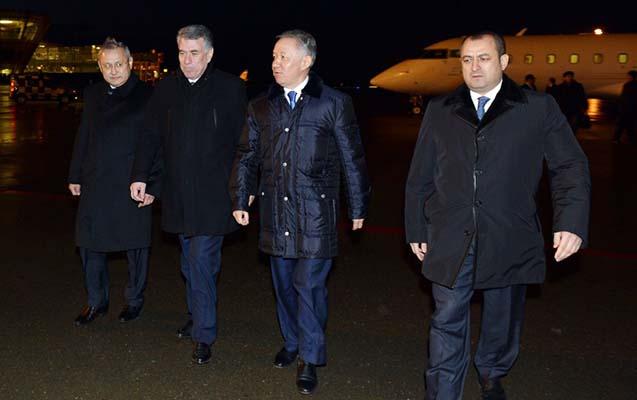 Qazaxıstan parlamentinin spikeri Azərbaycana gəlib